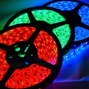 Detalhes do produto Fita LED SMD 5050 RGB 14,4W