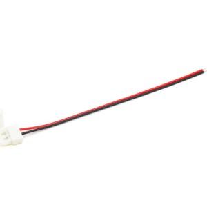 Detalhes do produto Conector click unilateral para Fita LED 8mm