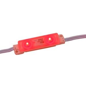 Detalhes do produto Módulo LED SMD 2835 Vermelho 2 LEDs com lente