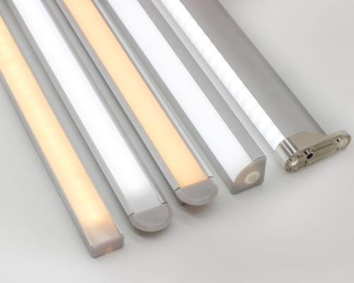 Ver detalhes de Perfis de Alumínio para Fitas LED