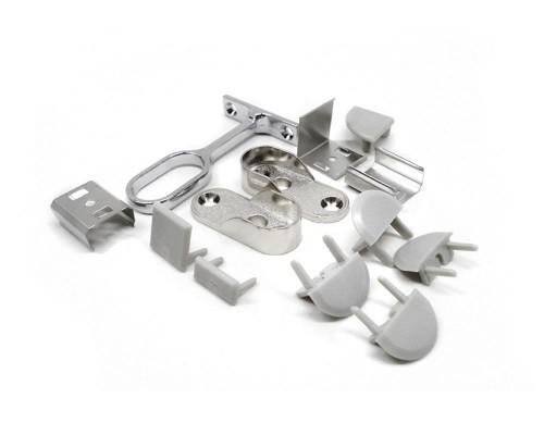 Detalhes do produto Acessórios para perfis de alumínio