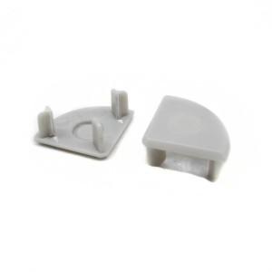Detalhes do produto Tampa lateral acabamento plástico p/ perfil canto em V