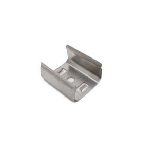 Detalhes do produto Presilha metálica para perfil alumínio de sobrepor